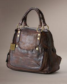 Elaine Vintage Back Pack - Bags & Accessories_Bags_Backpacks - The Frye Company in dark brown