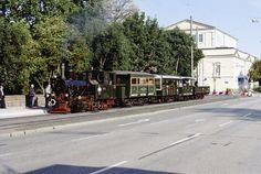 Historische Dampfstraßenbahnfahrten zwischen Darmstadt und Griesheim