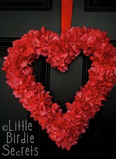 Pretty Valentine Wreath!