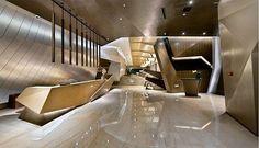 Home Interior Design — Nos encanta la recepción de esta oficina  In love...