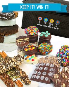 Oct 28: Belgian Chocolate- Covered Indulgence | Dylans Candy Bar