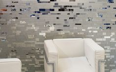 GLASS MOSAIC METROPOLIS IN DIAMOND BY TREND GROUP