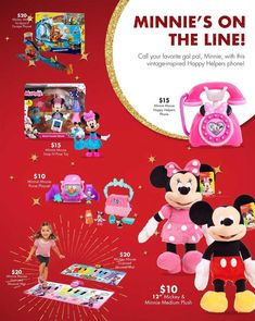 Big Lots Toy Books 2018 Ads and Deals Browse the Big Lots Toy Books 2018 ad scan and the complete product by product sales listing. Minnie Mouse Purse, Mickey Mouse, Black Friday News, Books 2018, Your Favorite, Vintage Inspired, Coupons, Musicals, Plush