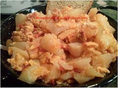 Recopilatorio de recetas : Revuelto de chorizo y patatas en Thermomix