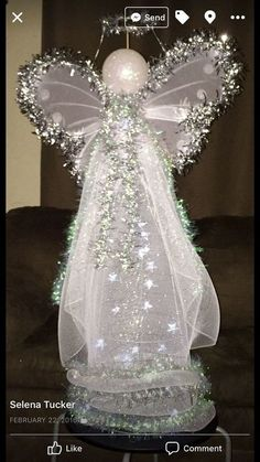 lighted tomato cage angel, Get creative with dress design