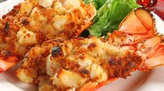 Christmas Eve Stuffed Lobster Tail. ~ Oh yes! This and the garlic roast beef! A menu for Christmas dinner 2015 is forming as I type!