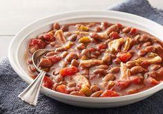 Crockpot Chicken Chili This is a Weight Watchers 4 PointsPlus+ recipe.