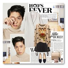 """""""Bo Gum"""" by warna ❤ liked on Polyvore featuring Monki, H&M, Givenchy, OPI, women's clothing, women's fashion, women, female, woman and misses"""