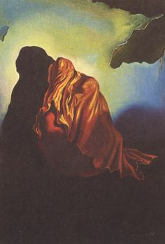 """one of my all time faves....  Salvador Dali ~ """"The Veiled Heart"""""""