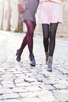 www.gambettesbox.fr - Nothing better than tights and heels to make You feel like a woman !