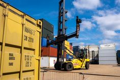 This is where we check all our shipping containers before they are sold! See all our stock online!