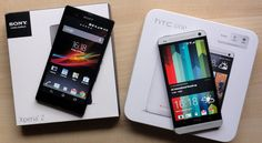 An interesting battle will be having this year on the android smartphone segment. The Sony Xperia Z and HTC One are the two powerful competitors for the current year. These two phones generally belong to the same generation of smartphone. And there are several similarities in these two devices. A comparison can be made between these devices in accordance with their display, design, storage, connectivity, battery, processor, operating system.