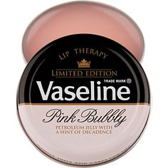 VASELINE Limited Edition Pink Bubbly Lip Therapy. Is it really only available at Selfridges in London?