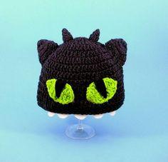 gorro crochet chimuelo, como entrenar a tu dragon