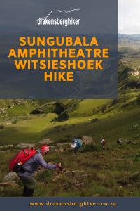 The Amphitheatre hike report for our slack packing hike from Witsieshoek up the Amphitheatre and back down to Sungubala Eco camp. Hiking, Walks, Trekking, Hill Walking
