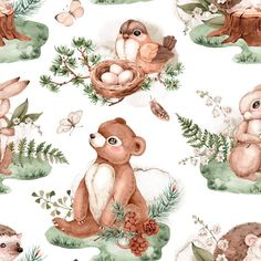 Bear Baby Blanket, Woodland Baby Shower Gift, Personalized Baby Blanket, Woodland Creatures Nursery Bedding, Little Bear Baby Blanket Name Baby Boy Room Decor, Baby Boy Rooms, Baby Boy Nurseries, Nursery Decor, Baby Girl Bedding, Baby Girl Blankets, Girl Nursery, Woodland Creatures Nursery, Baby Rompers