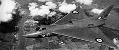 4 September 1949 First flight #flighttest of the Avro 707, experimental aircraft investigating delta wing low speed characteristics