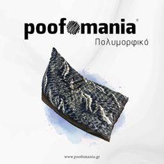Πολυμορφικό #beanbag #indoor #interior #pouf  #madeingreece #poofomania #design #polymorfikopouf #print