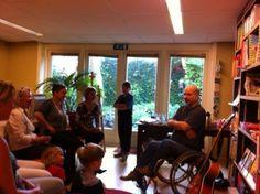20 juni 2012: Schrijversbezoek van singer- songwriter Peter van Kan