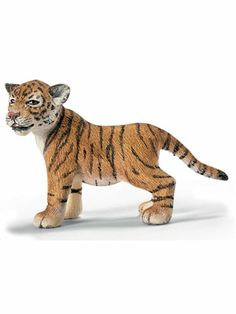 Tiger Cub from Schleich #toys #animals #miniatures