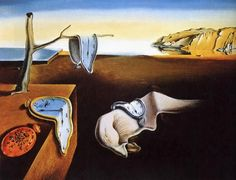 La Persistencia de la memoria (1931), Salvador Dalí.