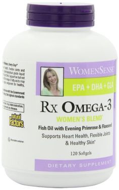 Natural Factors RxOmega3 Factors Womens Blend 120 Softgels * Learn more by visiting the image link.