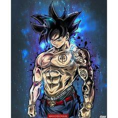 """Stunning Ultra Instinct Goku"" this is called 10 billion % Osmmmm Poster Superman, Superman Hulk, Dragonball Goku, Goku Saiyan, Wallpaper Do Goku, M Anime, Anime Girls, Cartoon, Son Goku"