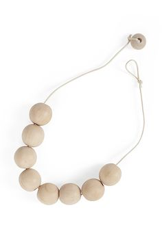 DIY funkis greta necklace
