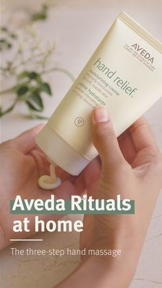 Bring home the Aveda hand massage ritual with these three steps on how to do a relaxing hand massage on yourself using your favourite calming essential oil blend. Tap to shop Aveda Hand Relief Moisturizing Creme to help relieve dry, cracked hands. Cracked Hands, Hand Massage, Damaged Hair Repair, Body Cleanser, Massage Techniques, Dry Lips, Hand Care, Soft Hair, Soy Wax Candles