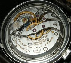 vintage Patek Cal. 27-AM 400 manual wind from an Amagnetic