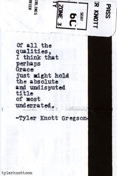 Tyler Knott Gregson Typewriter Series #432 Saved By Violet Blue Muse violetbluemuse.com