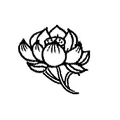 Really simple but pretty lotus flower