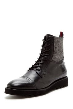 Barney Leather & Textile Boot