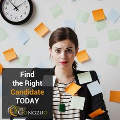 We can help ease the resource #recruitment pressure!  Find right #candidates faster with https://www.thegongzuo.com