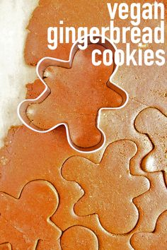 Vegan Gingerbread Cookies with @wholeearthsweetener #ad #