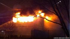 Park Royal warehouse fire