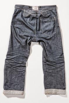 The Bandit Overalls Produced By Blue Blanket Jeans - Long John Edwin Jeans, Denim Ideas, Street Style Shoes, Japanese Denim, Blue Blanket, Raw Denim, Dress For Success, Vintage Jeans, Mens Suits