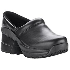 ZCoiL Womens Toffler Slip Resistant Enclosed CoiL Black Leather Clog Sandal 7 CD US >>> Details can be found by clicking on the image. (It is an affiliate link and I receive commission through sales) Women's Mules & Clogs, Clog Sandals, Clogs Shoes, Mules Shoes, Smooth Leather, Black Leather, Leather Clogs, Shoe Storage, Footwear