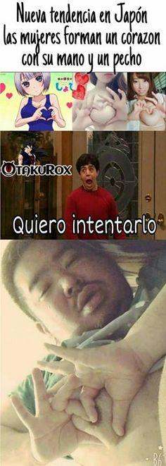 Esos otakus si que están locillos #Yamcha_sama . anime meme en español