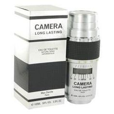 Camera Long Lasting Eau De Toilette Spray By Max Deville. Camera Long Lasting Cologne by Max Deville, Camera long lasting, by max deville was introduced in 1988. This refreshing, spicy aroma for men possesses a blend of lavender, and amber, with citrus and spices. Camera long lasting is recommended for office wear.