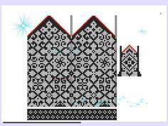 Crochet Mittens Free Pattern, Knit Mittens, Knitted Gloves, Knitting Charts, Knitting Stitches, Knitting Patterns, Knit Art, Wrist Warmers, Fair Isle Knitting