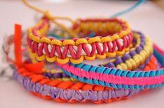 Tuto : Réaliser un bracelet scoubidou plat, par Madiwi