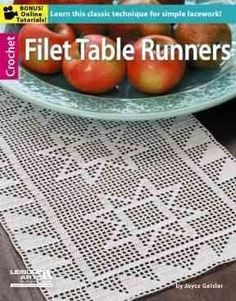 Filet Crochet Table Runners