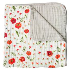 Buy your Summer Poppy Cotton Muslin Quilt by Little Unicorn here. Quilts from Little Unicorn are perfect for cuddling, nursing, play time and more! Quilt Baby, Cotton Quilts, Cotton Muslin, Flannel Quilts, Toddler Quilt, Little Unicorn, Quilt Making, Baby Love, Quilt Patterns
