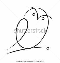 stock vector : Owl