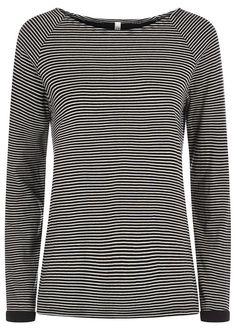 Fairtrade and organic stripe blouse