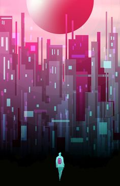 The Ruby Scottuminga Follow My Tumblr At Httpwwwscottuminga - City skylines turned into geometric metropolises by scott uminga