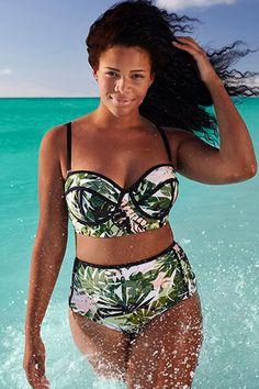 Discover the Swim Sexy The Madame Everglade Underwire Bikini. Explore items related to the Swim Sexy The Madame Everglade Underwire Bikini. Plus Size Bikini Bottoms, Women's Plus Size Swimwear, One Piece Swimwear, Plus Size High Waisted Bikinis, Swimwear Sale, Kids Swimwear, Sexy Bikini, Bikini Tops, Bikini Swimsuit