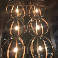 This type of lighting fixture, seen often in recent journeys, officially joins the trending list. The big question - still just a lighting fixture or a contemporary chandelier? Either way, it's great for home decor! (scheduled via http://www.tailwindapp.com?utm_source=pinterest&utm_medium=twpin)