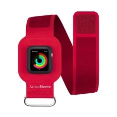 Twelve South ActionSleeve Armband for 38mm Apple Watch in Red